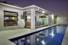 Real Estate Photographers  | Cairns night pool